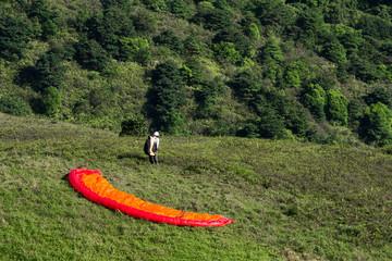 Paragliding - prepare