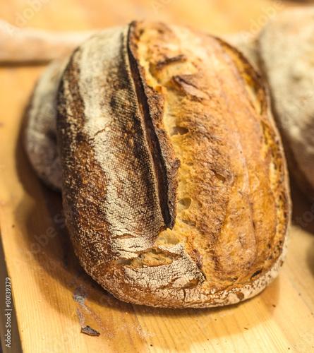 Papiers peints Pain Handmade loafs in bakery