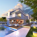 Modern mansion - 80139549