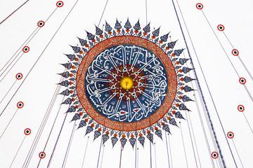 Ceiling decoration of Rustem Pasha Mosque