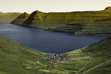 Beautiful scenery on the Faroe Islands