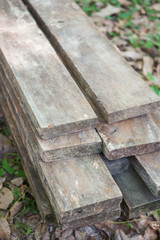 stack lumber to be used for construction