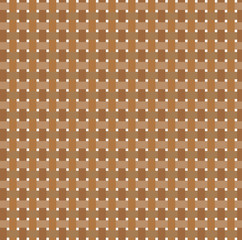 Abstract braided brown background. Vector illustration.