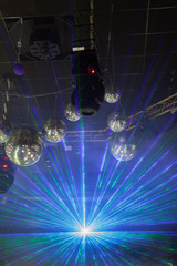 Disco light show, Stage lights