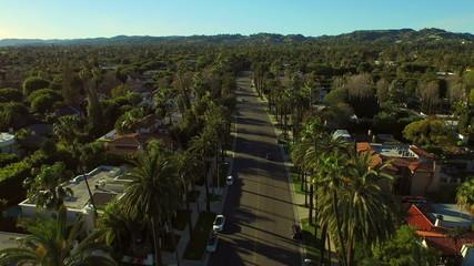 Los Angeles Aerial Beverly Hills