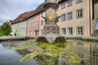 Fountain in Rothenburg ob der Tauber, Germany