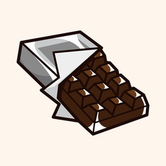 chocolate theme elements