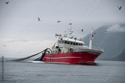 Fischkutter Norwegen - 80144733