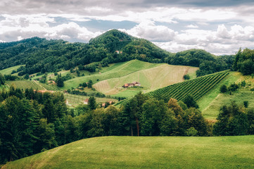 Landscape in Southern Styria