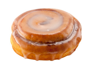 Cinnamon Roll isolated