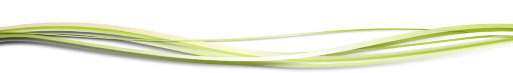wellen grün band