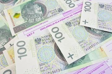 Polish tax form vat