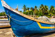 old fishing boat on the beach - 80151999