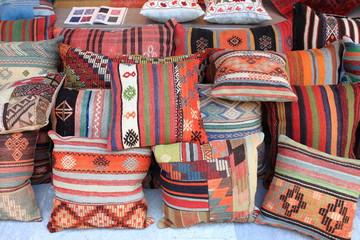 Cushions shop in Istanbul, Turkey