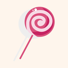 candy theme elements
