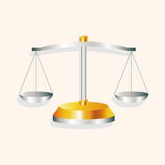 financial balance theme elements