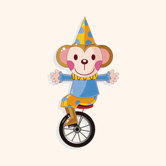 circus animal theme elements