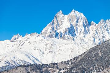 Snow Mountain Ushba
