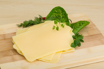 Sliced sheese