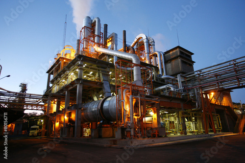 Staande foto Industrial geb. industry