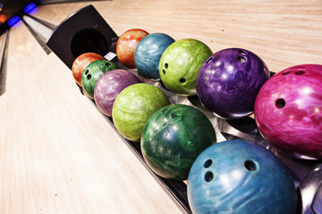 beautiful bowling balls