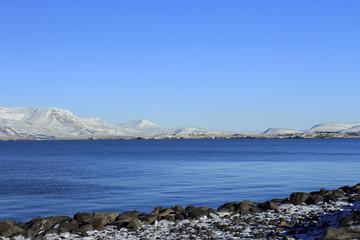 Mare di Reykjavik in Islanda