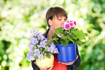 Mit Freude im Garten