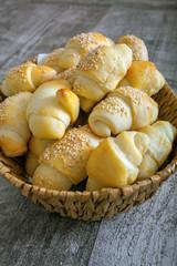 Beked small bread like snacks