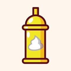 kitchenware pepper bottle theme elements