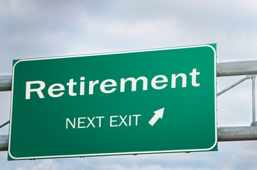 Creative Sign About Retirement