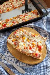Homemade Fresh Pizza