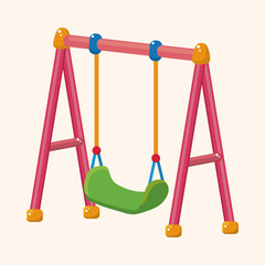 playground swing theme elements