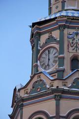 Часы колокольни Петропавловского собора г. Казани.