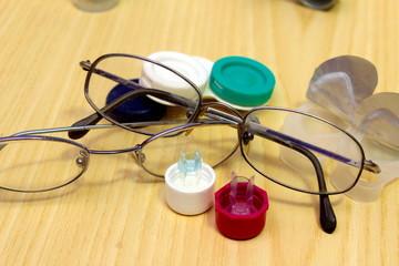occhiali e lenti