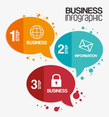 Infographic design, vector illustration.