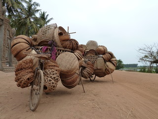 Basket Shop on Wheels