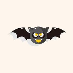 Halloween bat theme elements