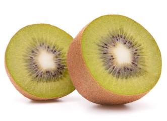 Sliced kiwi fruit half