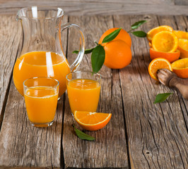 Composition with orange juice