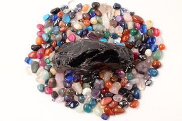 黒曜石と鉱石