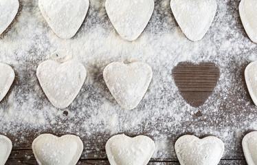 Ravioli hearts