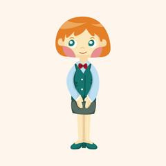 flight attendants theme elements
