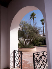 San Xavier del Bac the Spanish Catholic Mission Tucson Arizona