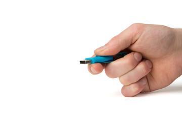 USB 3.0 Stick vor Übergabe