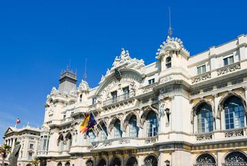 Edifici de la Duana building in Barcelona, Spain