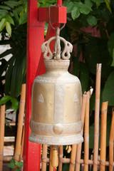 Bell in Wat Phan Tao, Chiang Mai, Thailand