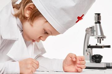 Microscope Boy