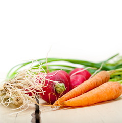 raw root vegetable