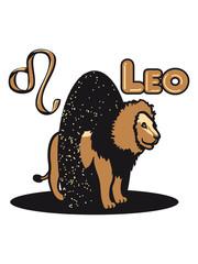 Leo Leo Horoscope sky
