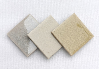 Natural color set swimming pool glass crack texture tile